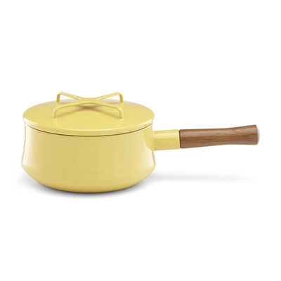 "Dansk ""Kobenstyle"" Yellow Saucepan with Lid, , default"