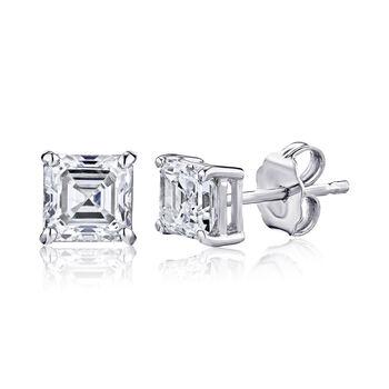 1.90 ct. t.w. Certified Diamond Stud Earrings in Platinum, , default