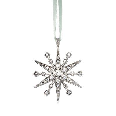 Joanna Buchanan Crystal Deco Snowflake Ornament, , default