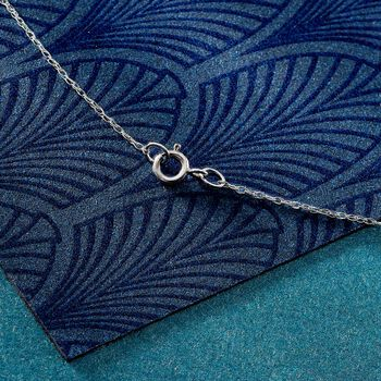 .7mm 14kt White Gold Rope Chain Necklace
