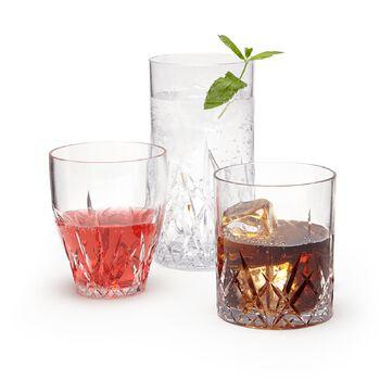 """Aurora"" Crystal Clear Acrylic Drinkware, , default"