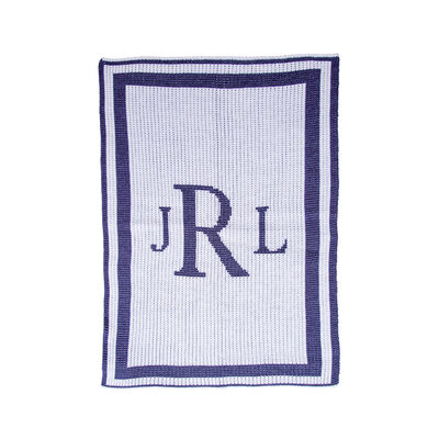 Child's Butterscotch Blankees Personalized Classic Monogram Blanket, , default