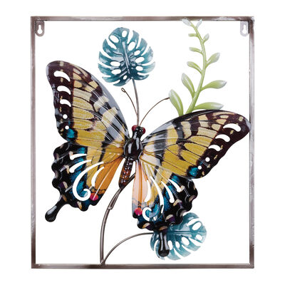 "Regal ""Luster"" Set of 2 Butterfly Wall Decor"