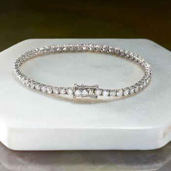 6.00 ct. t.w. Diamond Tennis Bracelet in 14kt White Gold, , default
