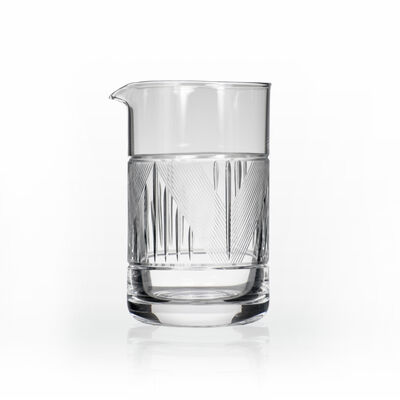 """Rolf Glass """"Bleecker Street"""" Mixing Jar"""
