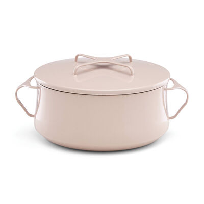 """Dansk """"Kobenstyle"""" Pink Casserole Pot with Lid, , default"""