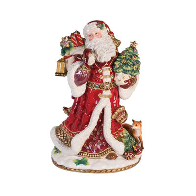 "Fitz and Floyd ""Renaissance Holiday"" Santa Figurine, , default"