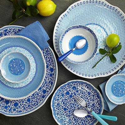 Heritage Blue Melamine Dinnerware, , default