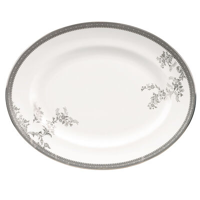 """Vera Wang for Wedgwood """"Lace"""" Oval Platter, , default"""