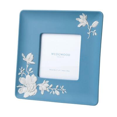"Wedgwood ""Magnolia Blossom"" 4x4"" Photo Frame, , default"