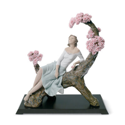 "Lladro ""Sweet Scent of Blossoms"" Porcelain Figurine, , default"
