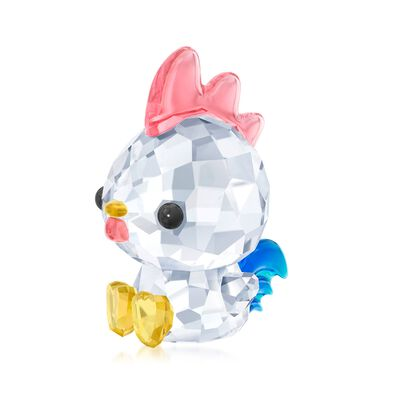 "Swarovski Crystal ""Decisive Rooster - Chinese Zodiac"" Crystal Figurine, , default"