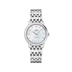 Omega De Ville Prestige Women's 27.4mm Stainless Steel Watch With Mother-Of-Pearl Dial , , default