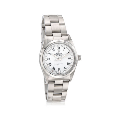 Pre-Owned Rolex Air-King Men's 34mm Automatic Stainless Steel Watch, , default