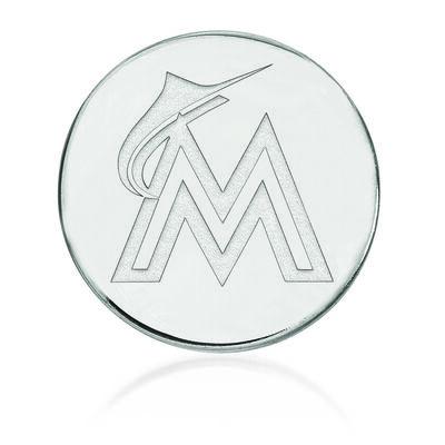 Sterling Silver MLB Miami Marlins Lapel Pin