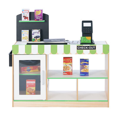 "Child's ""Cashier Austin"" Play Market Stand"