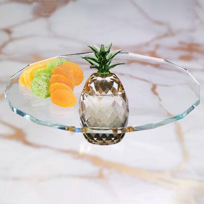 Judith Ripka Pineapple Crystal Server