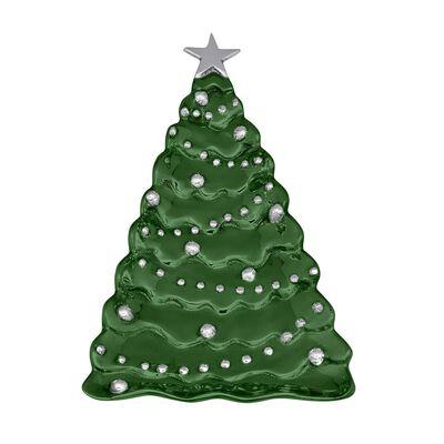 Mariposa Green Christmas Tree Server, , default