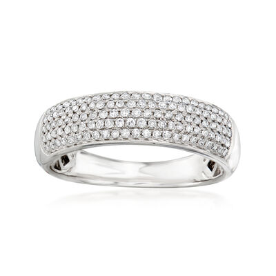 .32 ct. t.w. Diamond Multi-Row Ring in 14kt White Gold