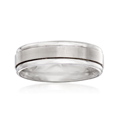 Men's 6mm Palladium Wedding Ring