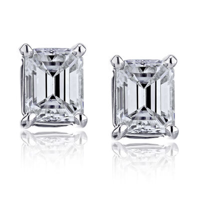 .70 ct. t.w. Certified Diamond Stud Earrings in Platinum, , default