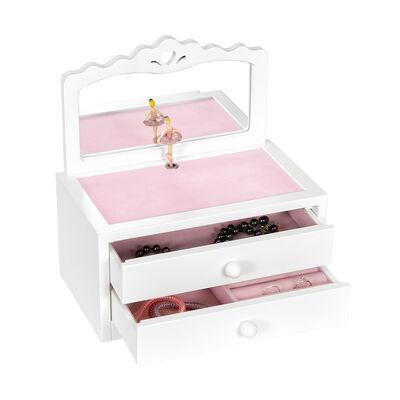 "Mele & Co. ""Kelby"" Ballerina Wooden Jewelry Box, , default"