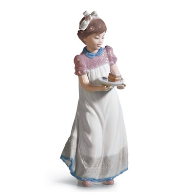 "Lladro ""Happy Birthday"" Porcelain Figurine"