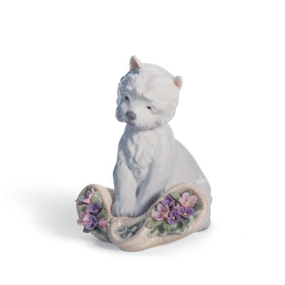 "Lladro ""Playful Character"" Porcelain Figurine"