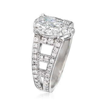 Majestic Collection 2.63 ct. t.w. Diamond Ring in 18kt White Gold. Size 7, , default