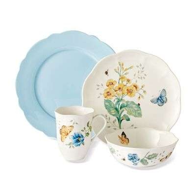 "Lenox ""Butterfly Meadow"" Porcelain Mixed Dinnerware, , default"