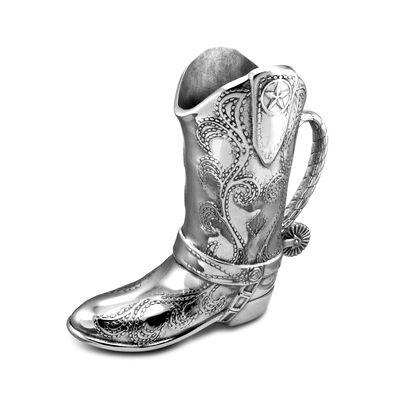 Wilton Armetale Cowboy Boot Pitcher, , default