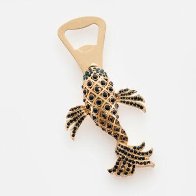 Joanna Buchanan Navy Koi Fish Bottle Opener, , default