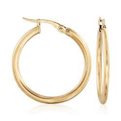 Roberto Coin 18kt Yellow Gold Hoop Earrings, , default