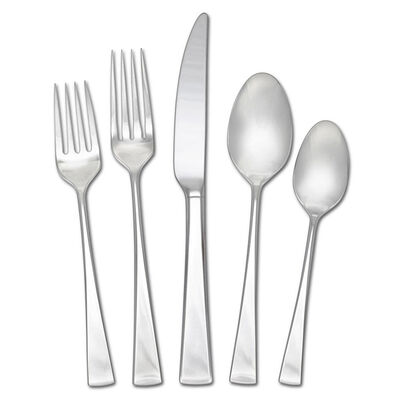 "Mikasa ""Lucia"" 65-pc. Service for 12 18/10 Stainless Steel Flatware Set"