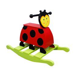 """The Magic Garden"" Child's Wooden Lady Bug Rocker, , default"