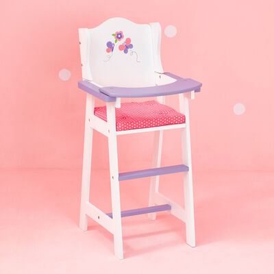 """Child's """"Little Princess"""" Baby Doll High Chair"""