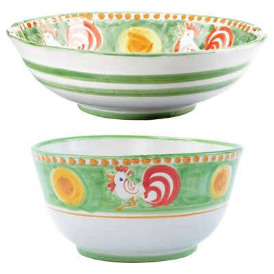 """Vietri """"Campagna Gallina"""" Serving Bowl from Italy"""
