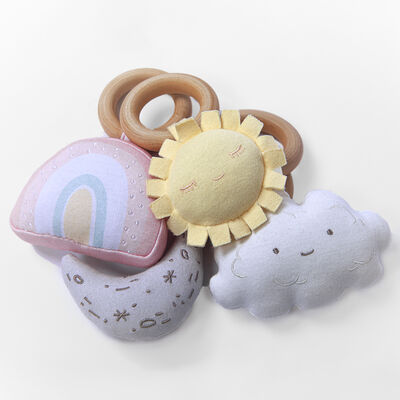 Baby's 4-pc. Celestial Rattles