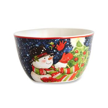 Starry Night Snowman Dinnerware, , default