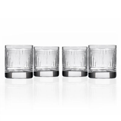 "Rolf Glass ""Bleecker Street"" Set of 4 on the Rocks Glasses, , default"