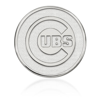Sterling Silver MLB Chicago Cubs Lapel Pin