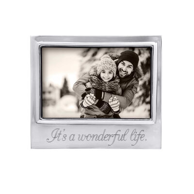 """Mariposa """"Traditions"""" It's a Wonderful Life 4x6 Frame"""