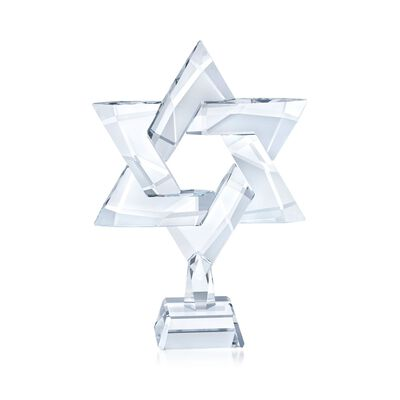 "Swarovski Crystal ""Star of David"" Crystal Figurine"