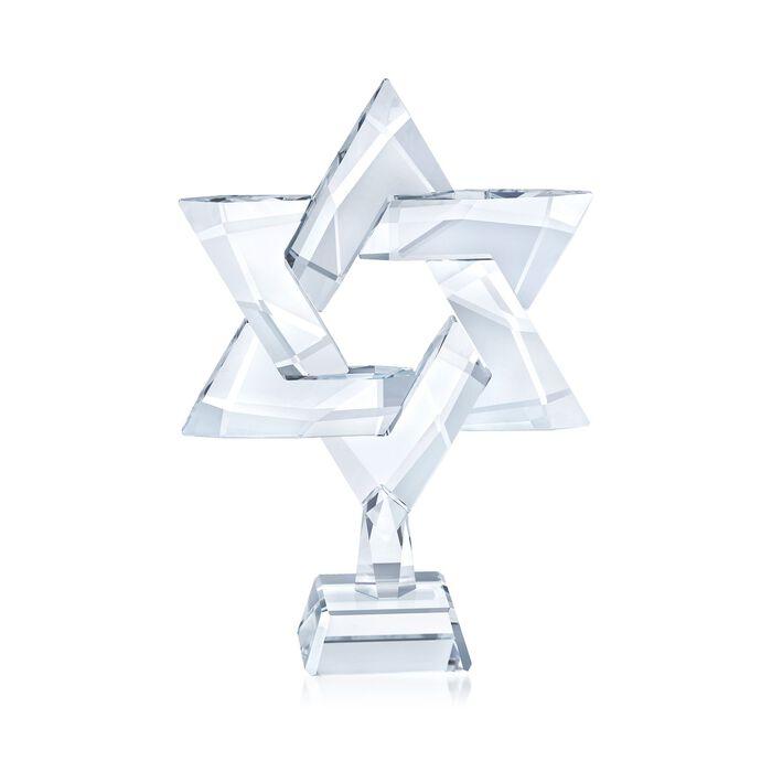 "Swarovski Crystal ""Star of David"" Crystal Figurine"