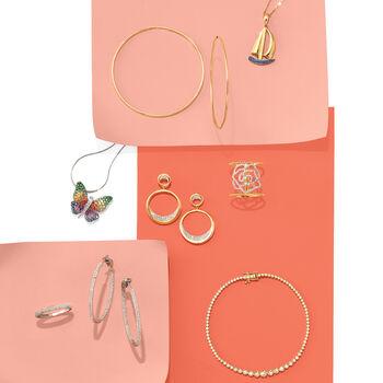 1.50 ct. t.w. Diamond Graduated Bracelet in 14kt Yellow Gold