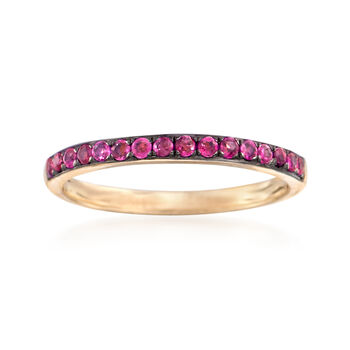 .30 ct. t.w. Ruby Ring in 14kt Yellow Gold, , default