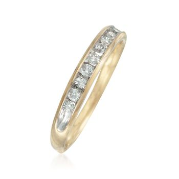 .25 ct. t.w. Diamond Wedding Ring in 14kt Yellow Gold, , default