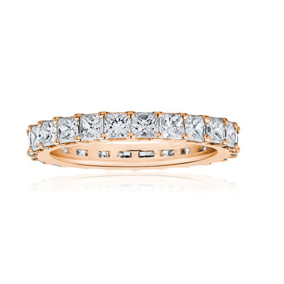 1.90 ct. t.w. Diamond Wedding Eternity Band in 14kt Rose Gold, , default