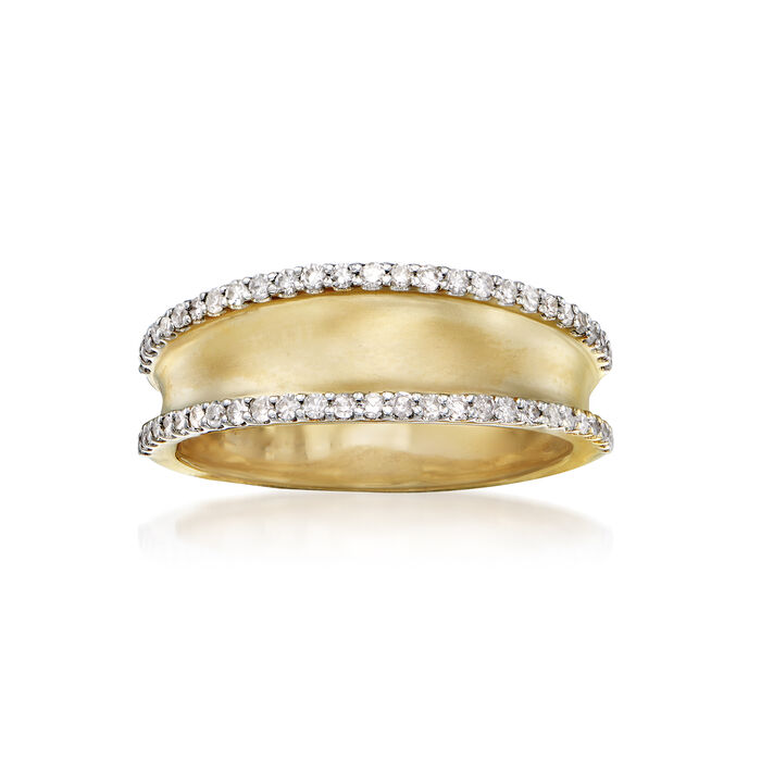 .31 ct. t.w. Diamond Ring in 14kt Yellow Gold, , default