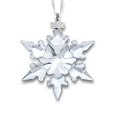 Swarovski Crystal 2020 Annual Snowflake Ornament